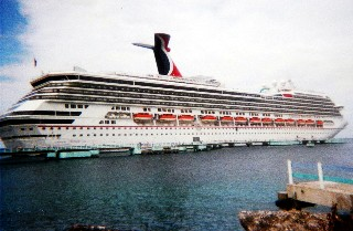 Photo of the Carnival Freedom goes here.