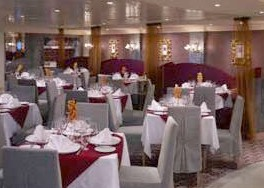 Photo of Todd English' restaurant onboard QM2 goes here.