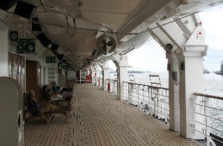 Photo of Eurodam Promenade Deck goes here.
