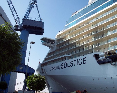 Photo of Celebrity Solstice goes here.