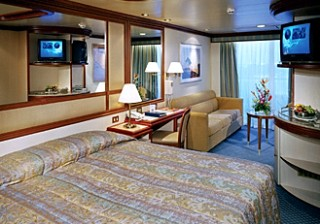 Photo of a suite on Coral Princess goes here.