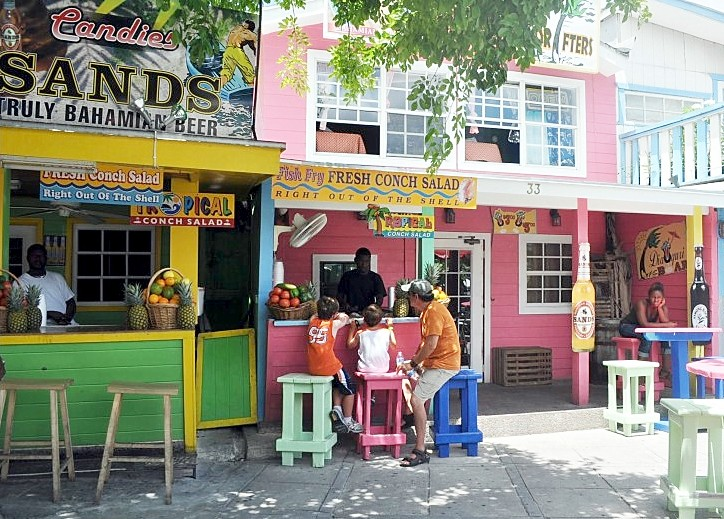 Photo of Bahamian Conch Salad joint goes here.*