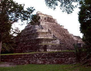 Photo of Chacchoben ruins goes here.