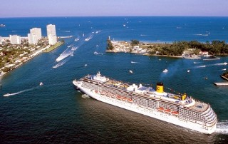 Photo of Costa ship sailing from Port Everglades goes here.