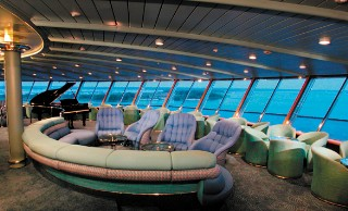Photo of the Crow's Nest on the Holland America Pinsendam goes here.