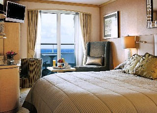 Photo of Cabin on Crystal Symphony goes here.