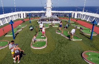 Photo of miniature golf on Elation goes here.