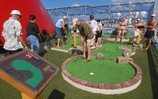 Photo of Carnival Freedom Mini Golf