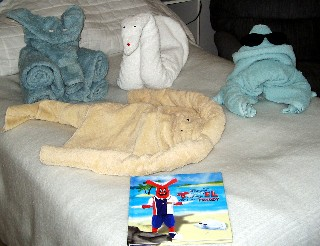 Photo of Towel Animals goes here.