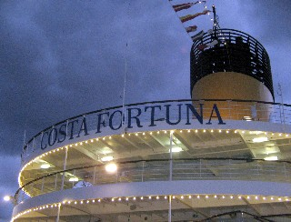 Photo of Costa Fortuna goes here.
