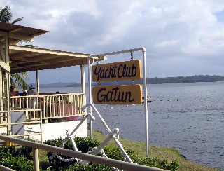 Photo of the Gatun Yacht Club goes here.