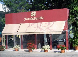 Photo of Juan Valdez Coffee shop goes here.