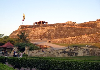 Photo of Castillo San Felipe goes here.