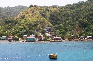 Photo of Roatan scenery goes here.