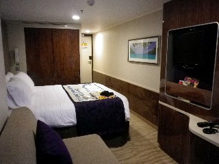 Photo of Balcony Stateroom on Norwegian Getaway goes here.*