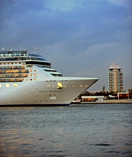 Photo of Coral Princess at Port Everglades goes here.