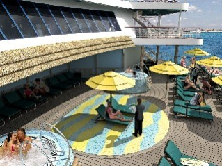 Photo of Carnival Serenity area goes here.
