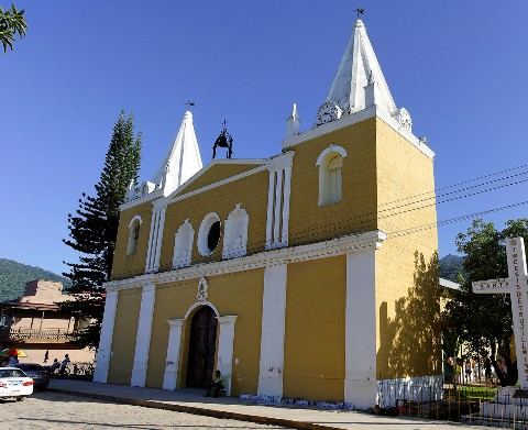 Photo of San Juan Baptista Church goes here.