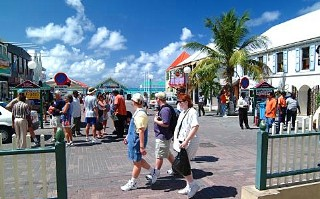 Photo of Cruisers in Philipsburg, St. Maarten goes here.