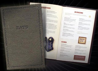 Photo of Hard Rock menu goes here.