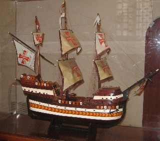 Photo of ship model goes here.