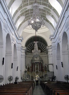 Photo of the cathedral's interior goes here.