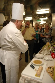 Photo of the galley is shown here.