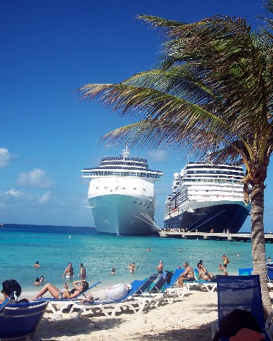Photo of beach at Grand Turk goes here.
