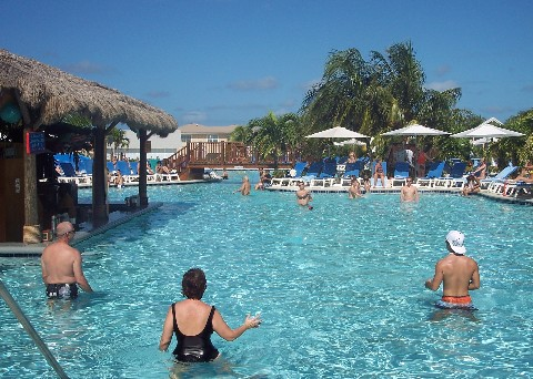 Photo of swimming pool at Grand Turk Cruise Center goes here.
