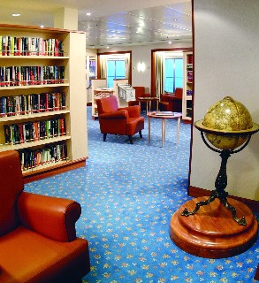 Photo of Library on Seven Seas Mariner