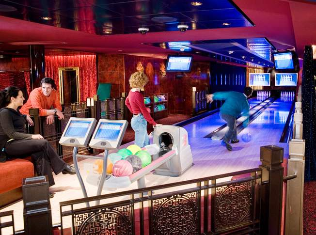 Photo of Bowling on NCL goes here.