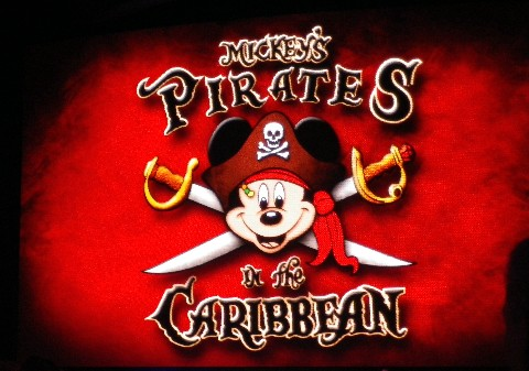Photo of Mickey's Pirates of the Caribbean goes here.