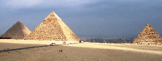 Photo of Egyptian Pyramids goes here.