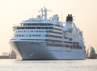 Photo of Seabourn Sojourn goes here.