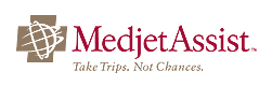 Photo of MedJet Logo goes here.