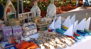 Photo of Nassau handicrafts and souvenirs goes here.